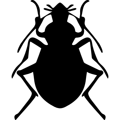 Stink bug insect shape  free icon