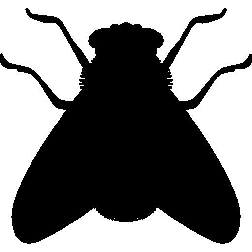 Fly shape  free icon