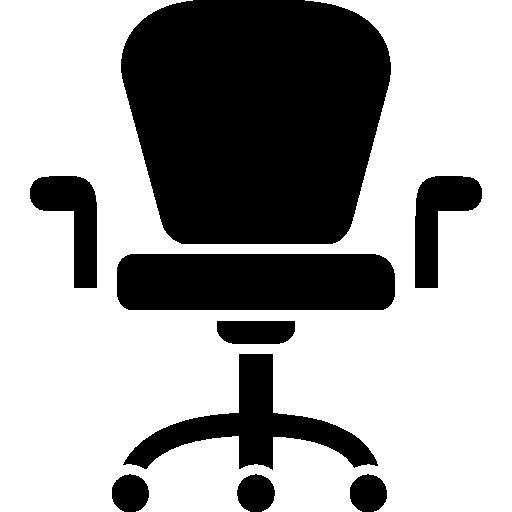 fauteuil à roulettes de mobilier de studio  Icône gratuit