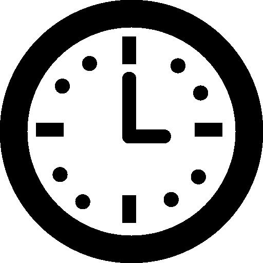 horloge murale circulaire pour salon  Icône gratuit