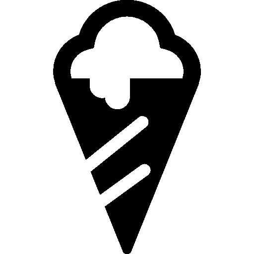 cono de helado de playa de verano  icono gratis