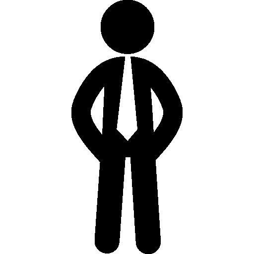 homme d'affaire  Icône gratuit