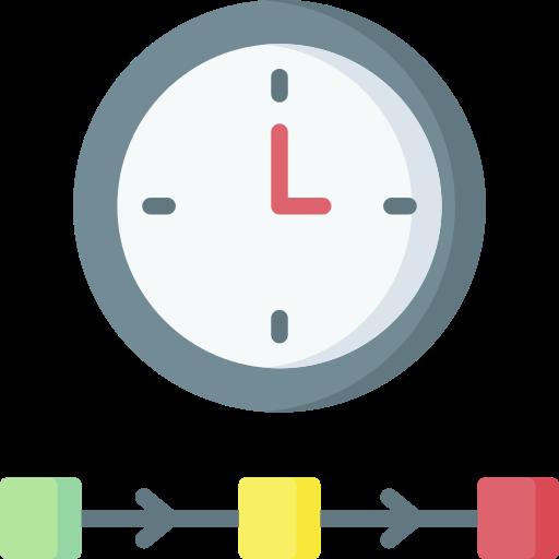 Timing  free icon