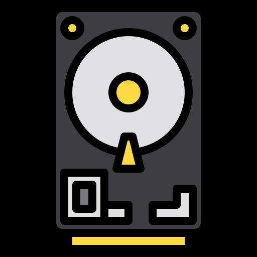 Harddisk  free icon