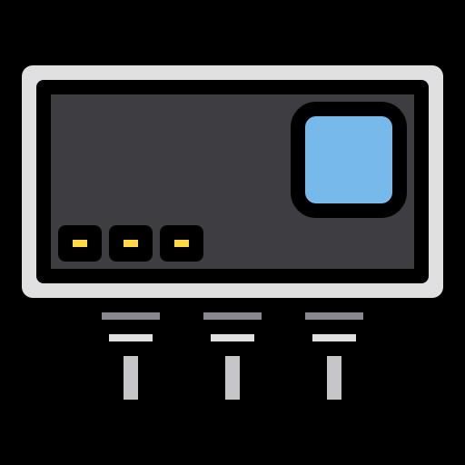 Usb hub  free icon