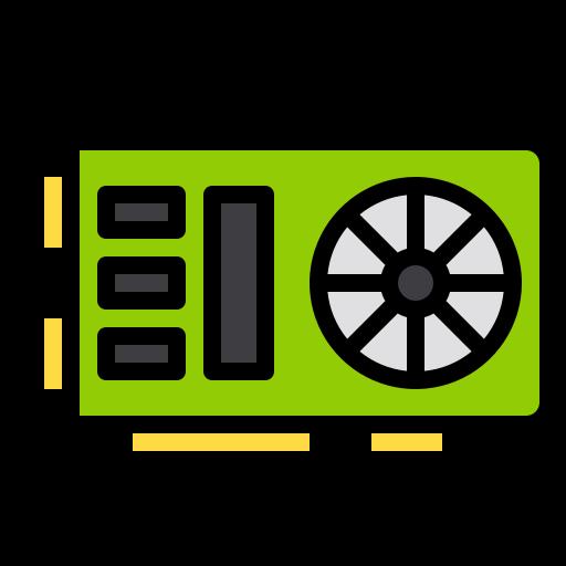 Vga card  free icon