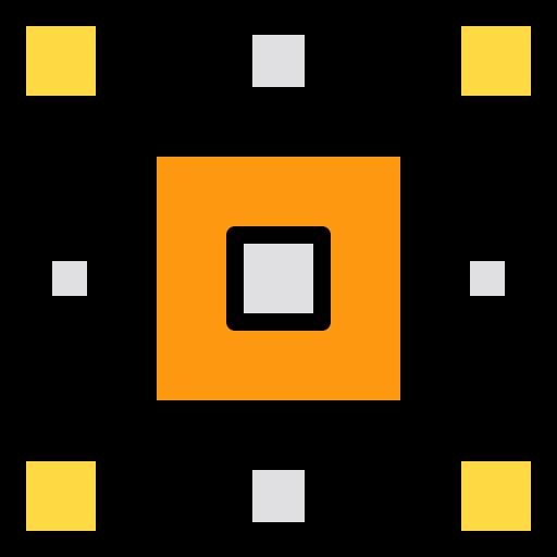 Mind map  free icon