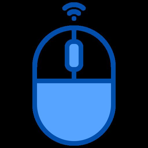 Wireless mouse  free icon