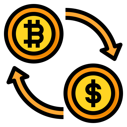 Currency exchange  free icon