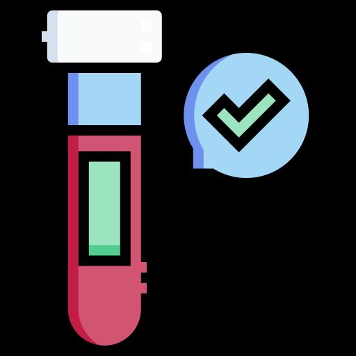 Blood test  free icon
