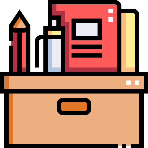 School material  free icon