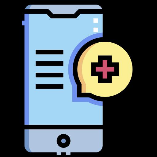 Medical app  free icon