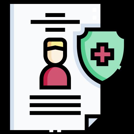 assurance santé  Icône gratuit