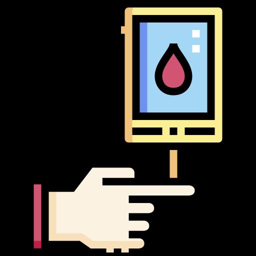 Diabetes test  free icon