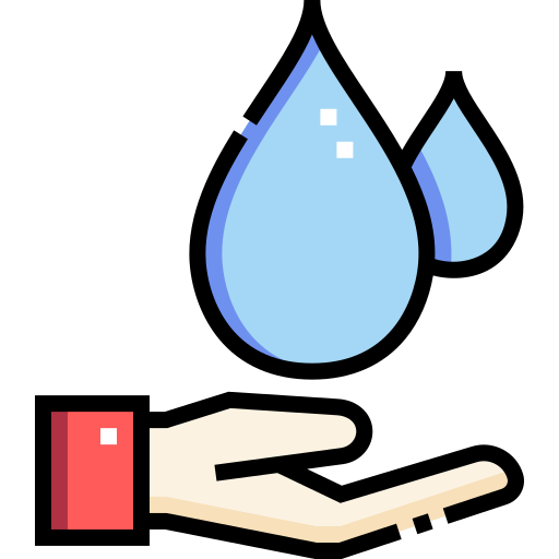 Clean water  free icon