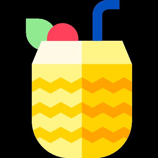 piña colada  grátis ícone