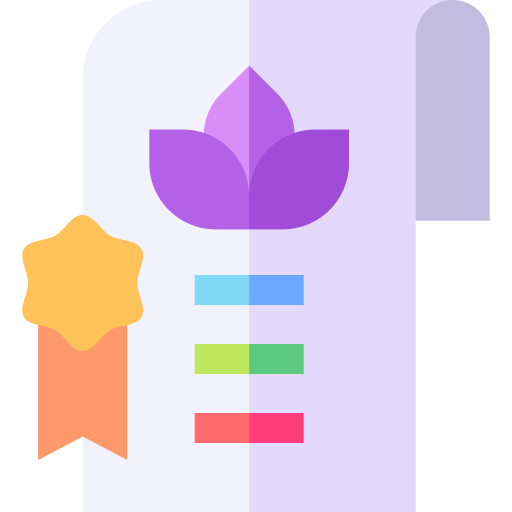 Certification  free icon