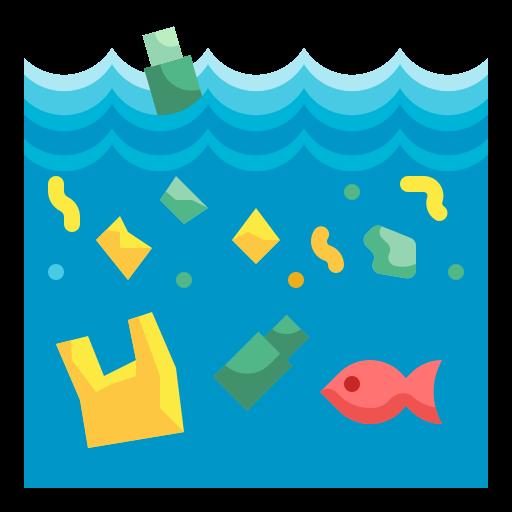 해양 쓰레기  무료 아이콘