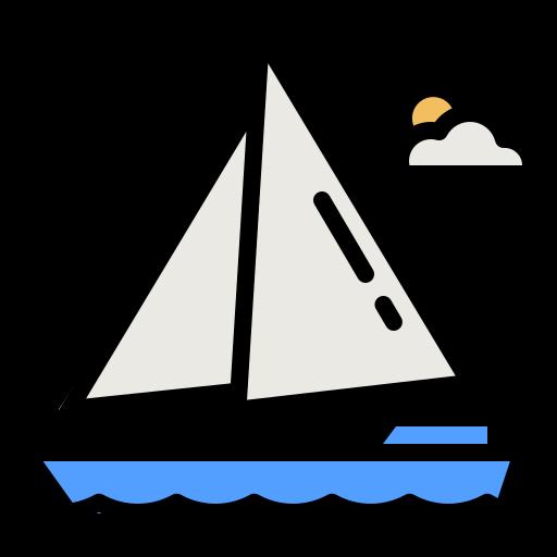 barco a vela  grátis ícone