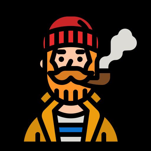 Fisherman  free icon
