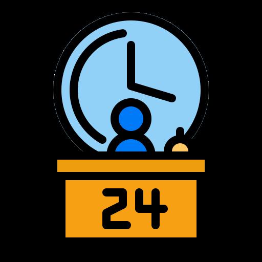Reception  free icon