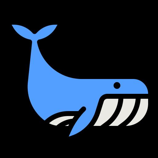 Whale  free icon