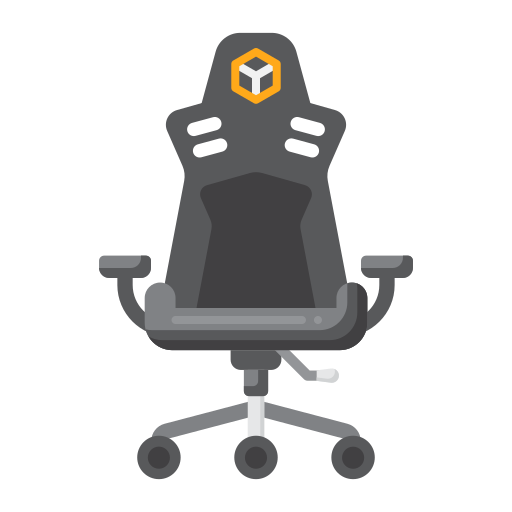 Gaming chair  free icon