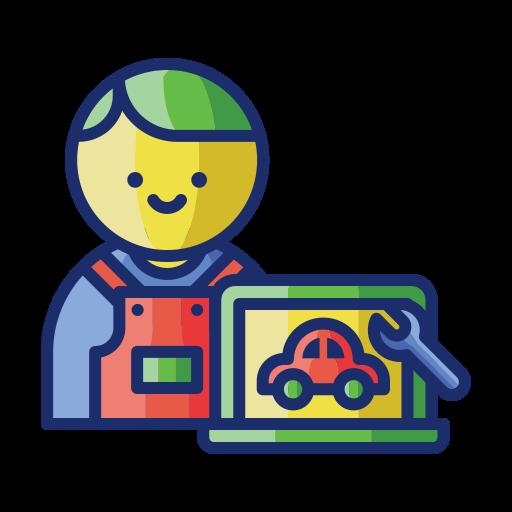 Car parts  free icon