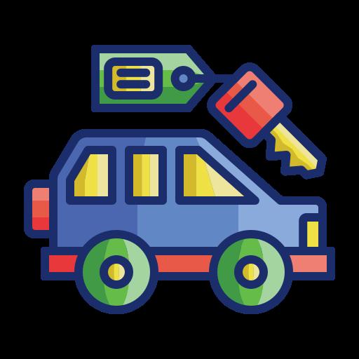 Rent a car  free icon