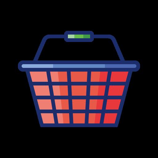 Shopping basket  free icon