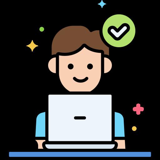 Working  free icon