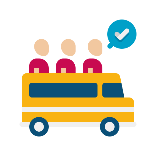 transport public  Icône gratuit
