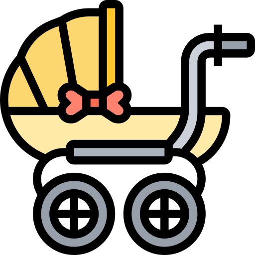 Baby carriage  free icon