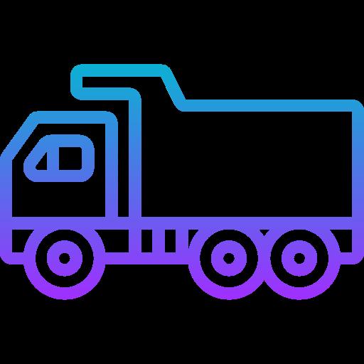 Dump truck  free icon
