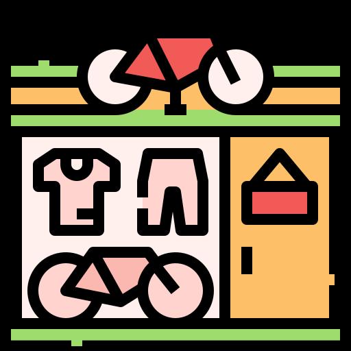 Bike shop  free icon