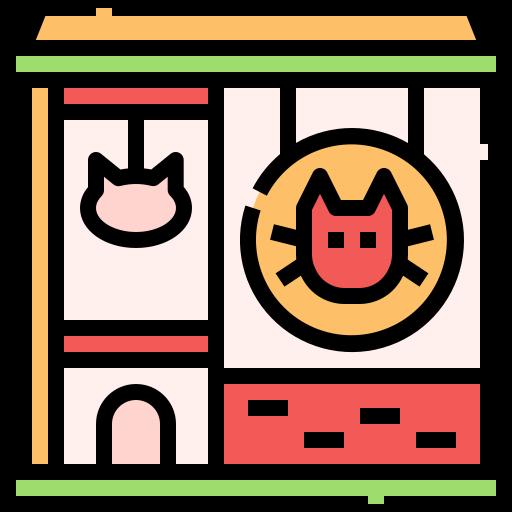 Pet shop  free icon