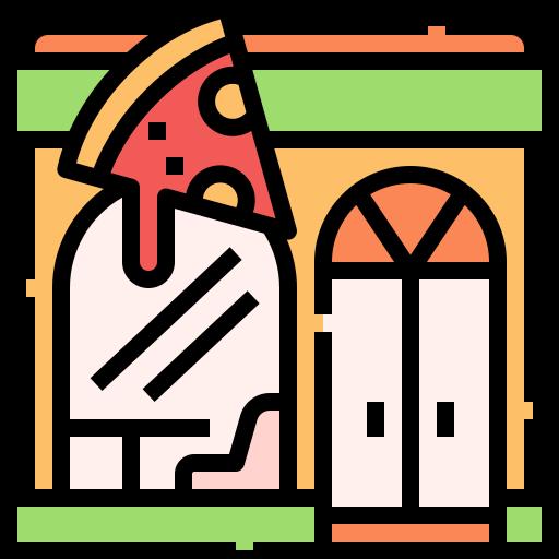 Pizza shop  free icon