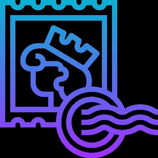 Stamp  free icon