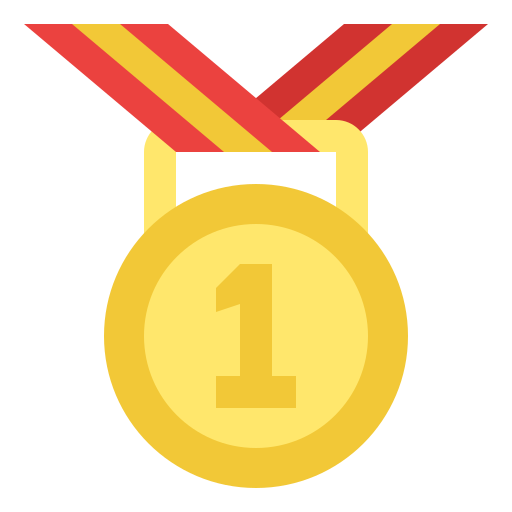 First position  free icon