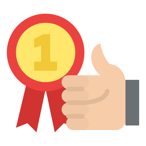1st place  free icon