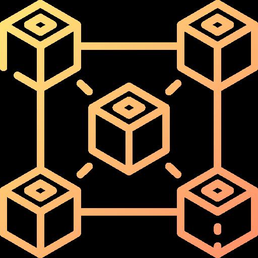 Блокчейн  бесплатно иконка