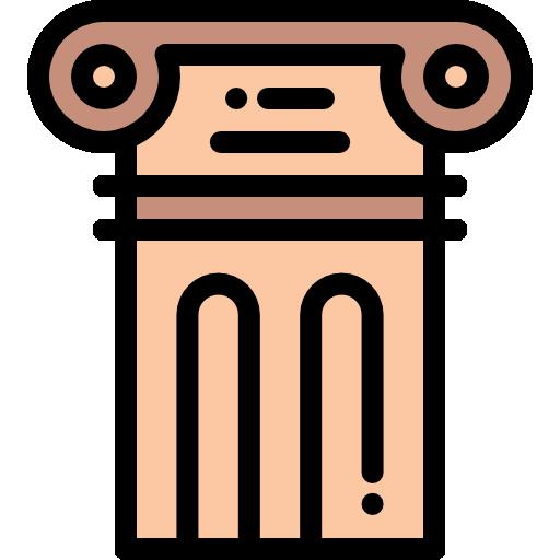 coluna grega  grátis ícone