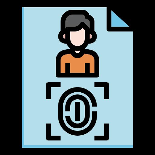 empreinte digitale  Icône gratuit