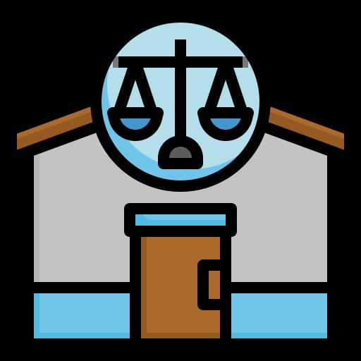 droit  Icône gratuit