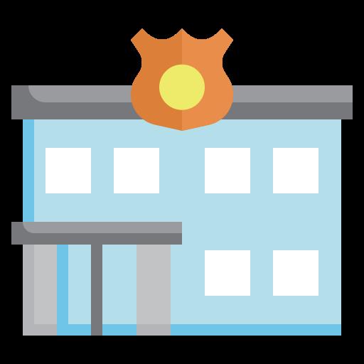 Полицейский участок  бесплатно иконка