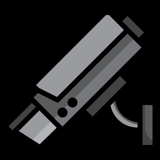caméra de surveillance  Icône gratuit