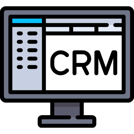 CRM  free icon