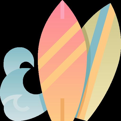 prancha de surfe  grátis ícone