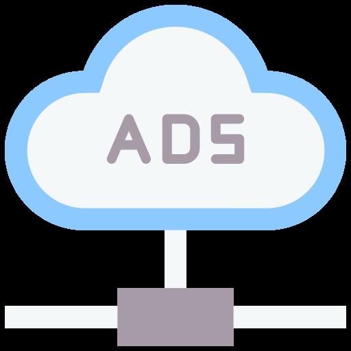 dados da nuvem  grátis ícone