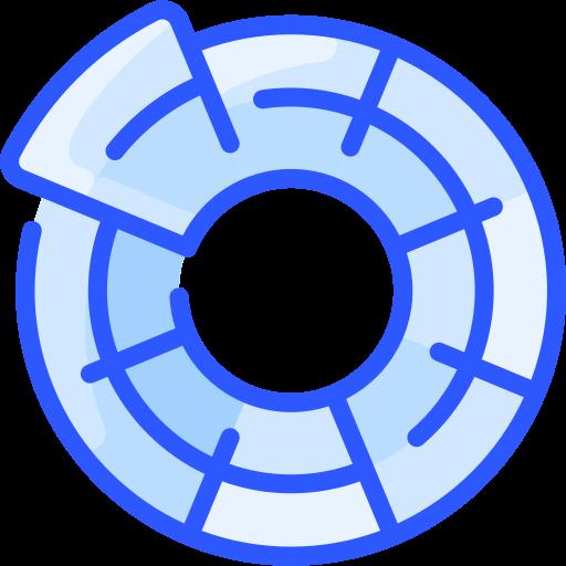 farbkreis  kostenlos Icon